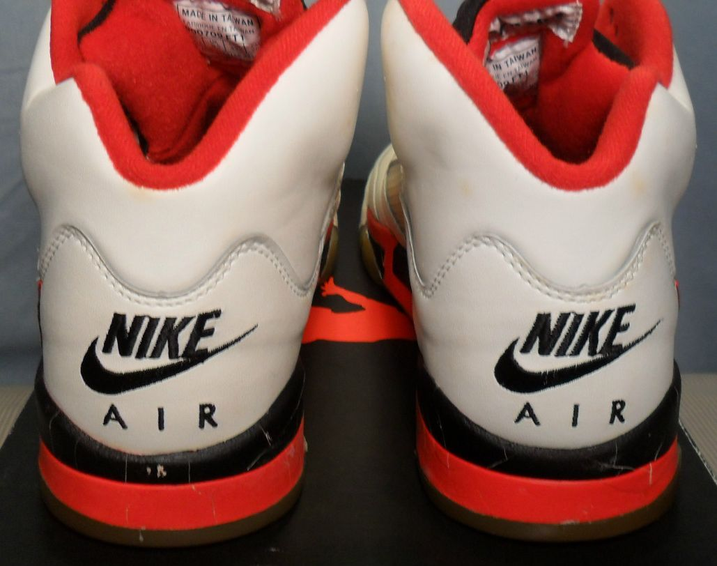 Angelus Fire Red Paint Jordan