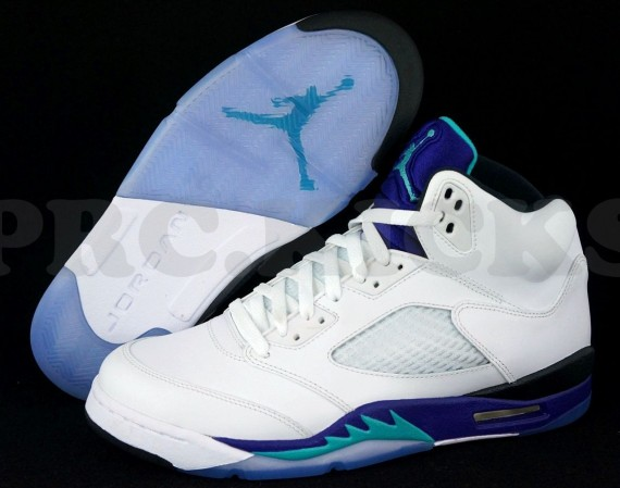 Air Jordan V: Grape   Available Early on eBay