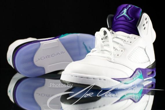 Jordan 5 Grape