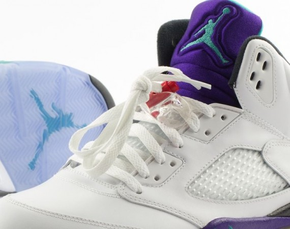 Air Jordan V: Grape   Release Date