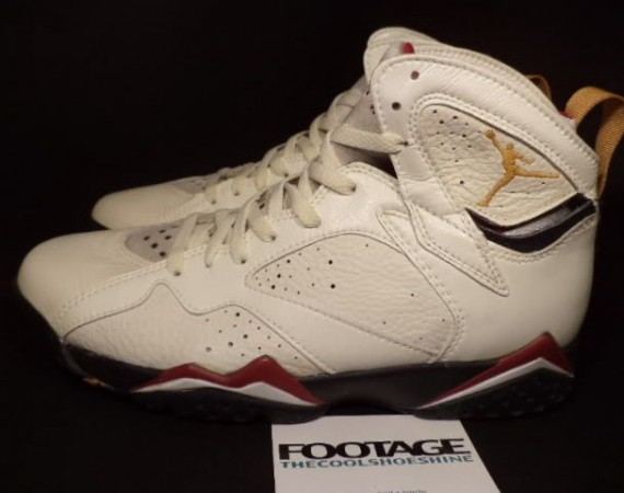 The Daily Jordan: Air Jordan VII Cardinal OG   1992