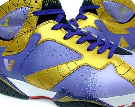 "Air Jordan VII: ""Ozymandias"" Customs by Sekure D"
