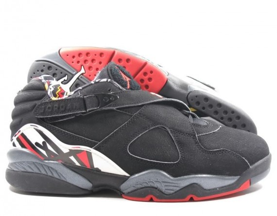 The Daily Jordan: Air Jordan VIII Low Playoffs   2003