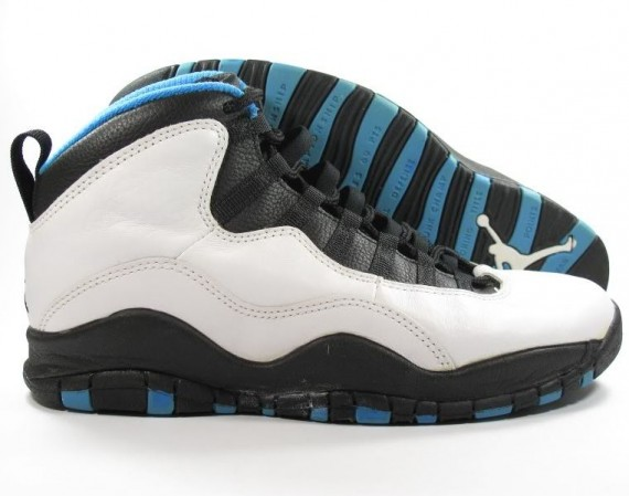 The Daily Jordan: Air Jordan X OG   White   Dark Powder Blue   1994