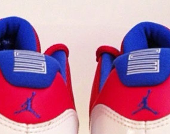 Air Jordan XI Low: Red – White – Blue – Michael Jordan PE