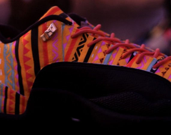 "Air Jordan XII Low ""BHM"" Customs by Rocket Boy Nift"