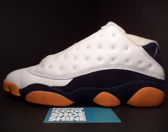The Daily Jordan: Air Jordan XIII Low   White   Midnight Navy   2005