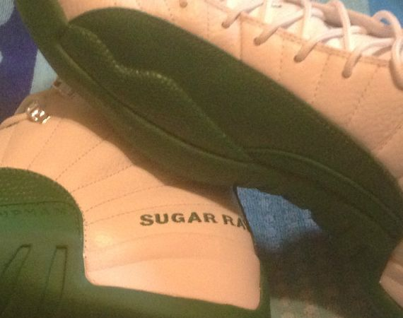 Air Jordan XII: Ray Allen Boston Celtics Home PE