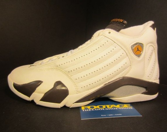 The Daily Jordan: Air Jordan XIV   White   Dark Cinder   2005