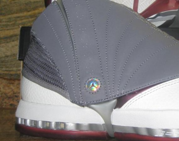 Air Jordan XVI: Cherrywood  Unreleased 2012 Sample