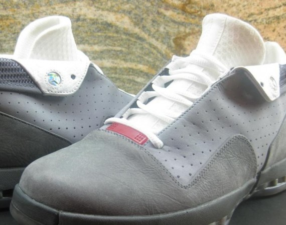 Air Jordan XVI Low: Dark Grey – Metallic Silver | Unreleased 2012 Sample