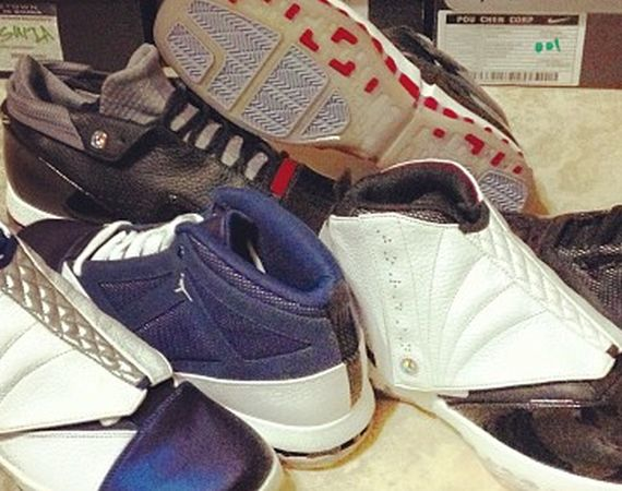 Air Jordan XVI Retro   Unreleased Fall 2012 Samples