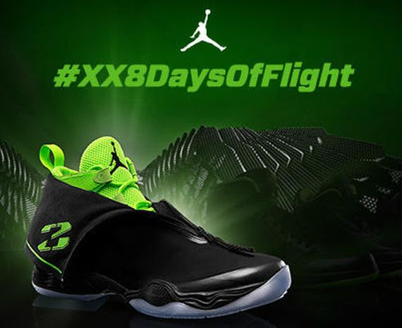 Jordan Brand XX8 Days of Flight