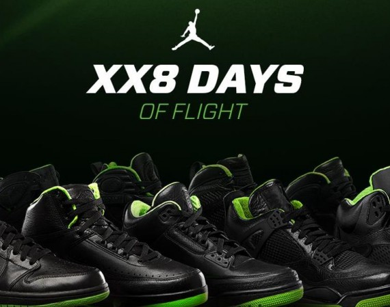 Air Jordan XX8 Days of Flight Collection Giveaway