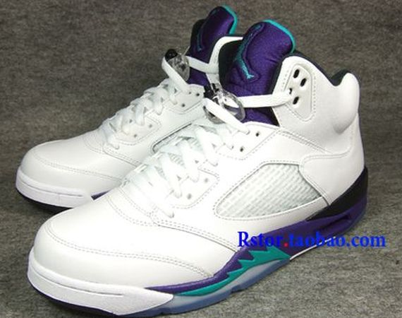 Grape Air Jordan V