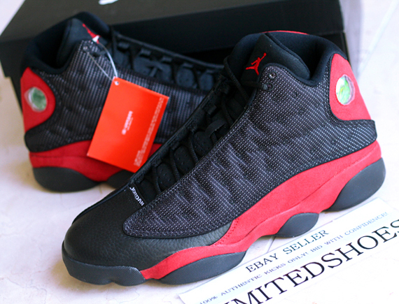 Air Jordan XIII Bred   Release Reminder