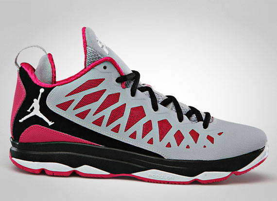 Jordan CP3.VI: Wolf Grey  Vivid Pink  Black  White