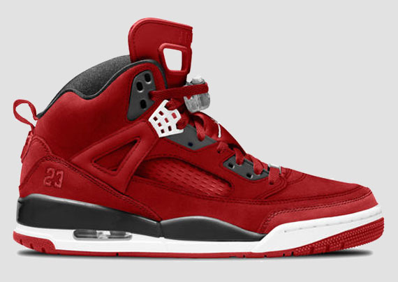 Jordan Spiz'ike iD: Suede Options