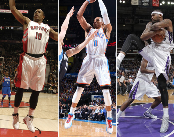NBA Jordans on Court: Around The League – 1/9 – 1/10