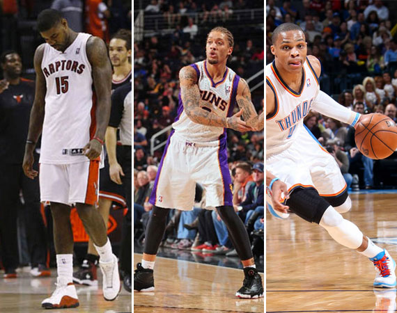 NBA Jordans on Court: Around The League – 1/16 – 1/17