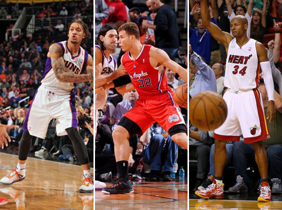 NBA Jordans on Court: Around The League  1/22  1/24