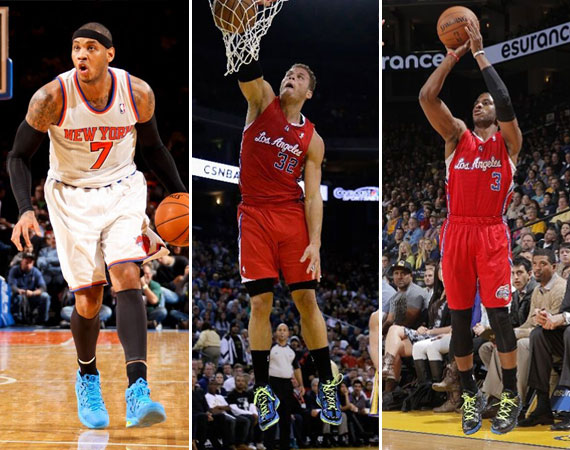 NBA Jordans on Court: Martin Luther King Jr. Day 2013 Recap