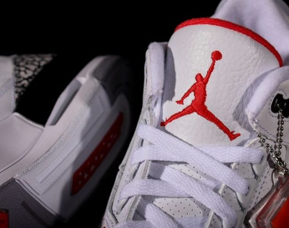 Air Jordan III 88 White/Cement