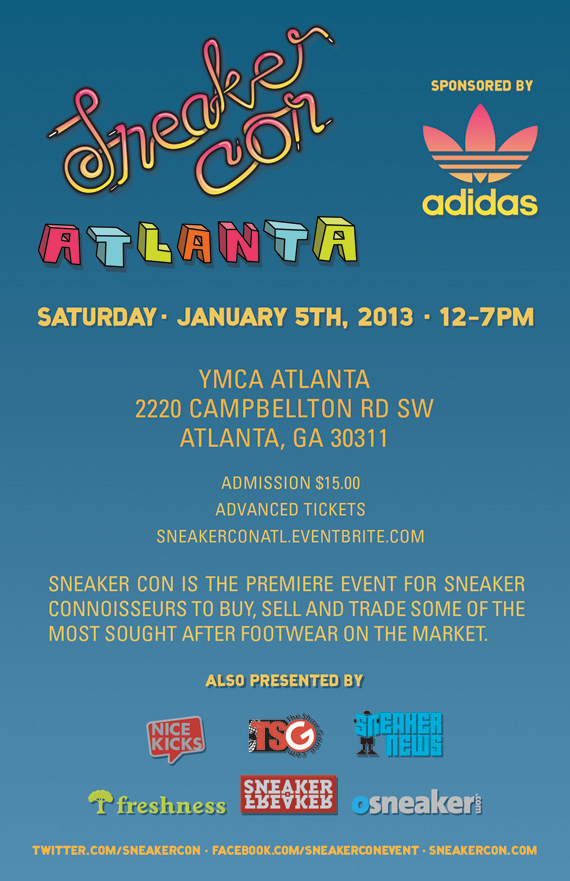 Sneaker Con Atlanta  Event Reminder