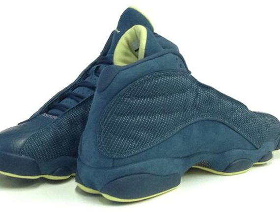 Air Jordan XIII Retro: Squadron Blue   Electric Yellow
