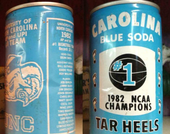 Vintage Gear: UNC Tar Heels Carolina Blue Soda
