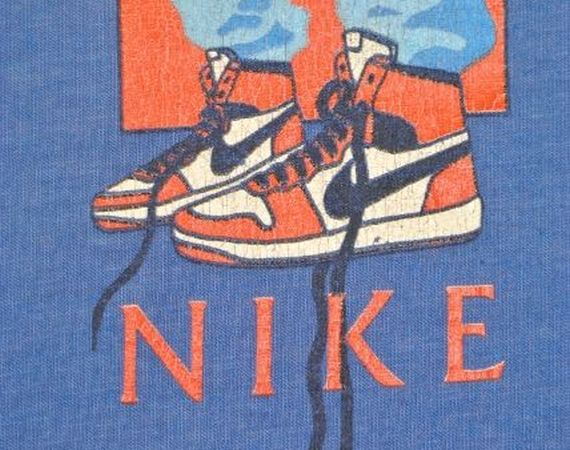 Vintage Gear: Nike Air Jordan Blue Tag T Shirt