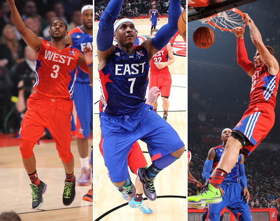 NBA Jordans on Court: 2013 All Star Game Recap