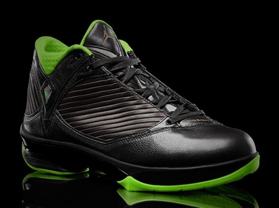 Air Jordan 2009: Black/Neon Green Collection
