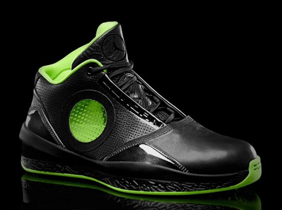 Air Jordan 2010: Black/Neon Green Collection
