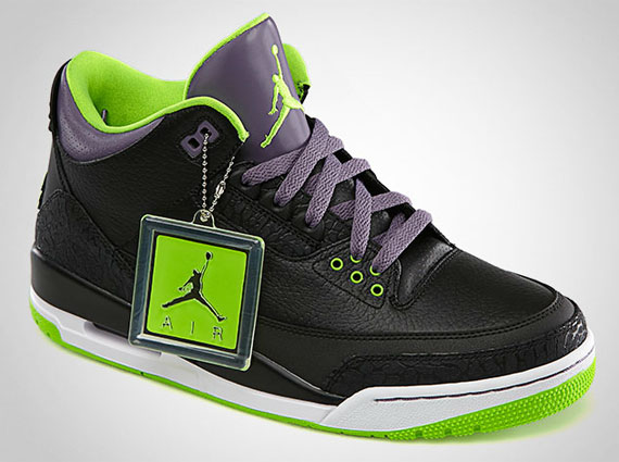 "Air Jordan III: ""Joker"" – Official Images"