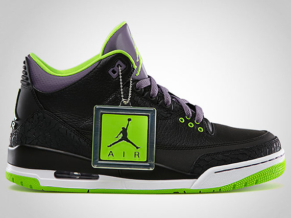 "Air Jordan III ""Joker"" – Release Reminder"