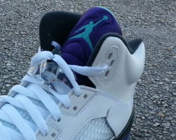 Air Jordan V GS: Grape