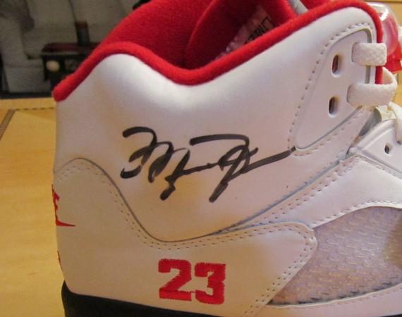 Air Jordan V: Limited Issue 1 of 100 Autographed Michael Jordan PE