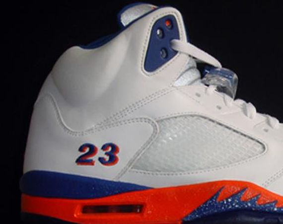 "Air Jordan V: Quentin Richardson ""Knicks"" PE"