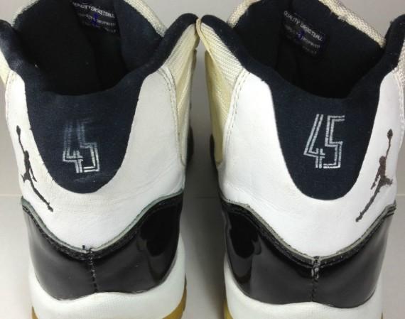 """Air Jordan XI: """"Concord"""" 45 Sample"""