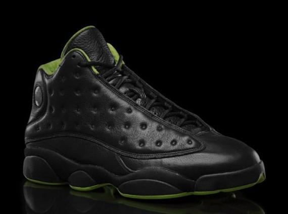 sale retailer f611f ec1ff new arrivals air jordan 13 green and black 322aa 6d4a9