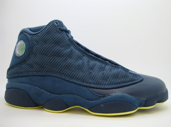 Air Jordan XIII: Squadron Blue   Release Reminder
