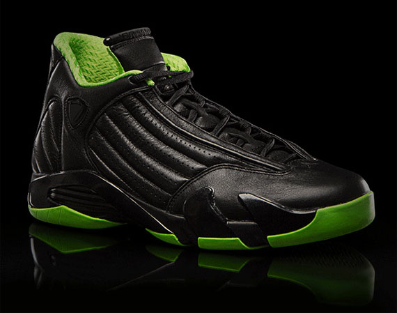Air Jordan XIV: Black/Neon Green Collection