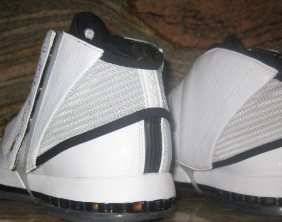 Air Jordan XVI Retro: White – University Gold – Black – Stealth | Unreleased 2012 Sample