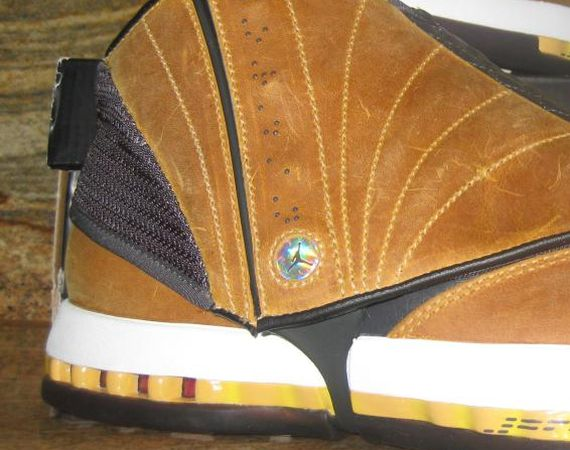"Air Jordan XVI 2012 Retro – Unreleased ""Ginger"" Sample"
