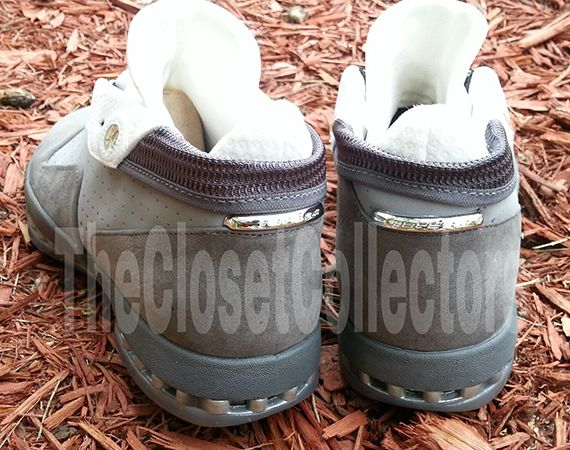 "Air Jordan XVI Low: ""Stealth"" – Unreleased 2012 Sample"