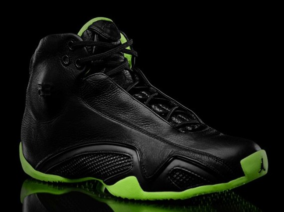 Air Jordan XXI: Black/Neon Green Collection