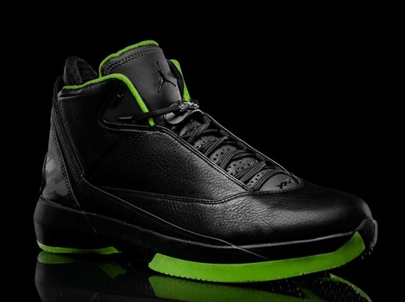 Air Jordan XX2: Black/Neon Green Collection