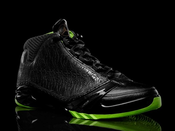 Air Jordan XX3: Black/Neon Green Collection