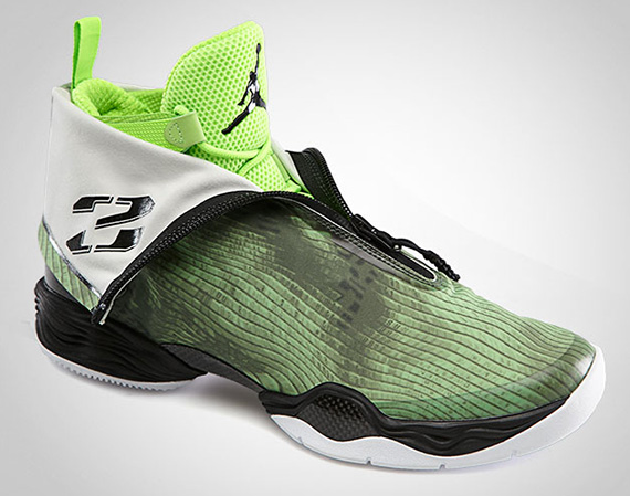 Air Jordan XX8 – Electric Green – Black | Official Images